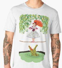 Cute halloween The crocodile girl Deadly circus Men's Premium T-Shirt