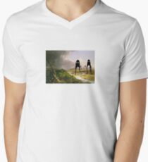The Oxbow invasion Men's V-Neck T-Shirt