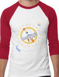 Heart of Gold Men's Baseball ¾ T-Shirt