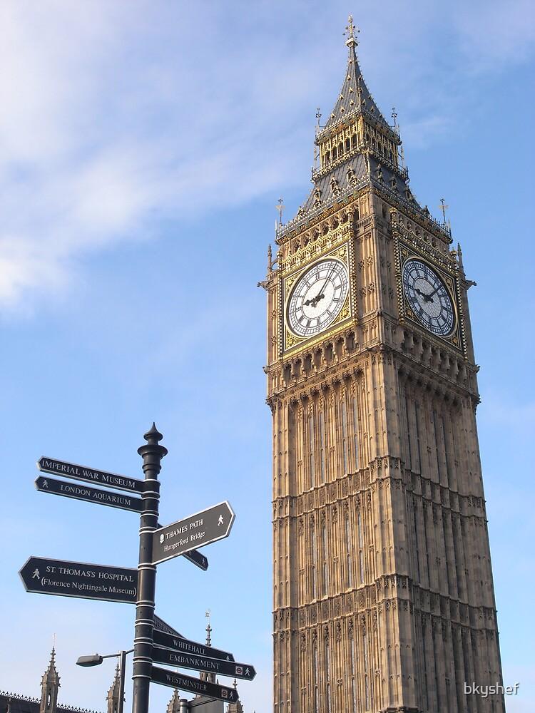 Big Ben by bkyshef
