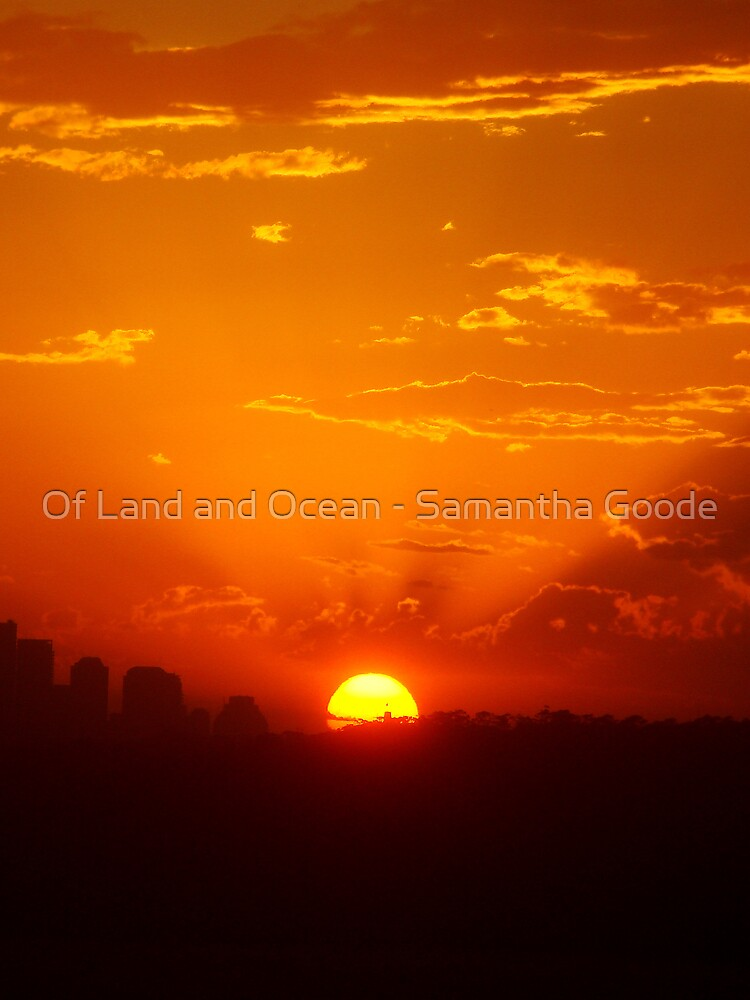 Sunset by Of Land & Ocean - Samantha Goode