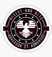 Eagle - Resist and bite Sticker