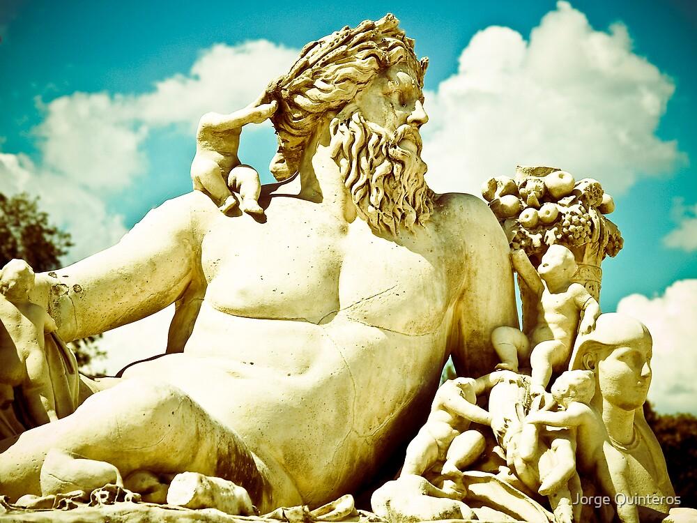 Garden Statue by Jorge Quinteros