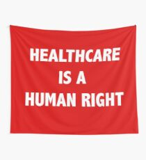 Heathcare is a Human Right Tapestry