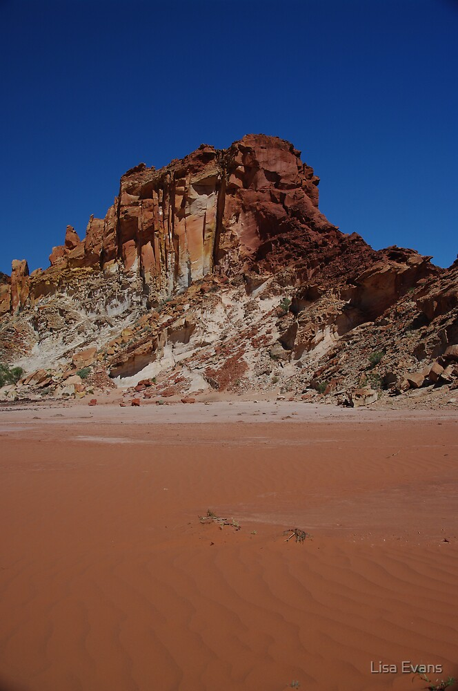 Rainbow Valley, Central Australia by Lisa Evans