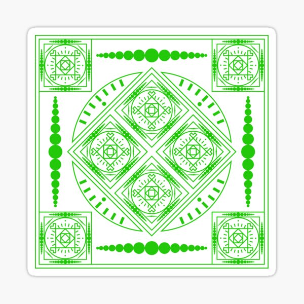 Bound By Symmetry (G) Sticker
