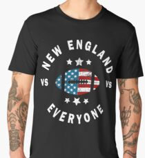 Funny Distressed New England VS Everyone Men's Premium T-Shirt
