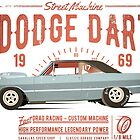 Dodge Dart Dragster Street Machine 1969 von SAVALLAS