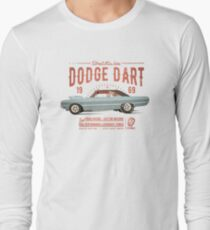 Dodge Dart Dragster Street Machine 1969 Langarmshirt