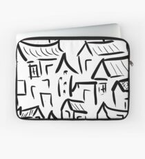 Village Rush Hour Laptop Sleeve