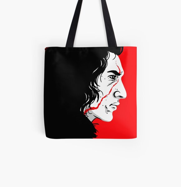 Scar All Over Print Tote Bag