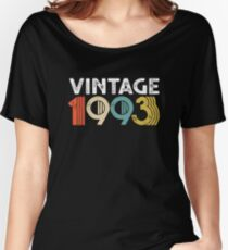 Vintage 1993 - 25th Birthday Women's Relaxed Fit T-Shirt