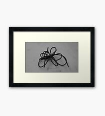 Wire Drawing #3 Framed Print