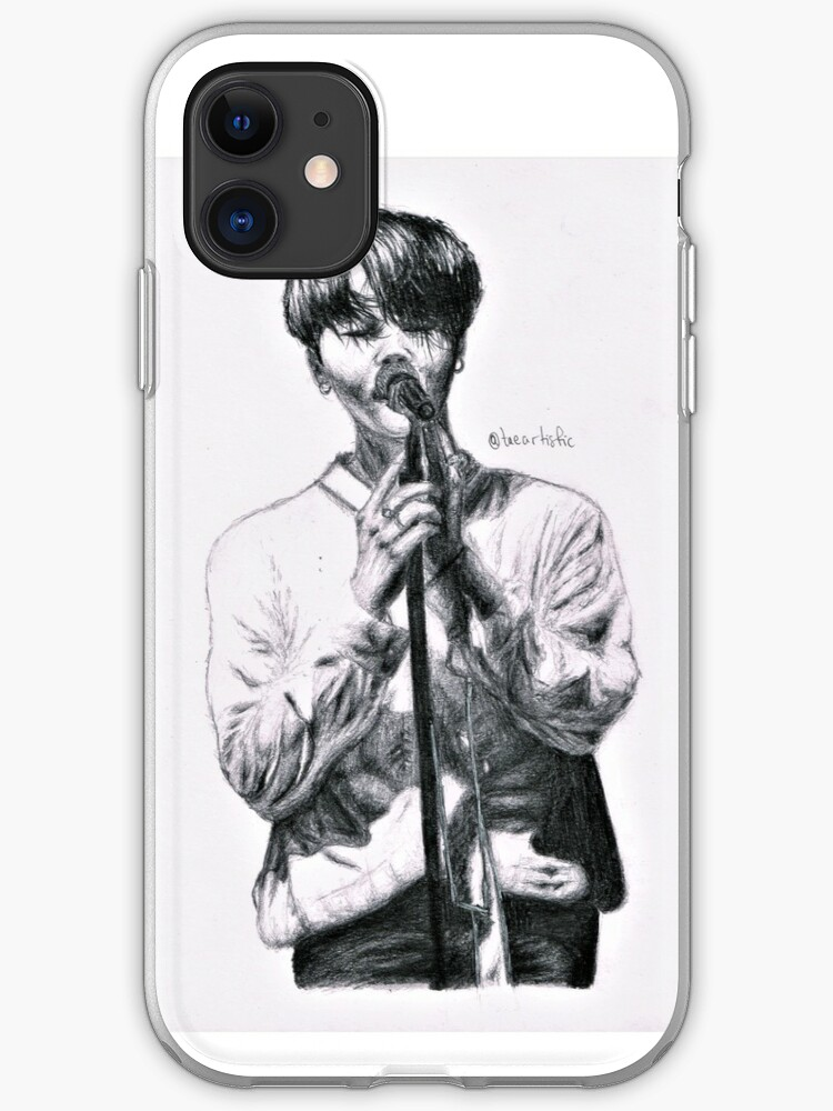 Jimin House Of Cards Iphone Case Cover By Taeartistic Redbubble