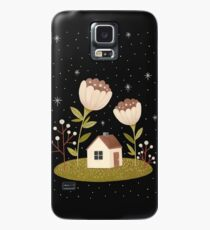 Tiny house among flowers Case/Skin for Samsung Galaxy