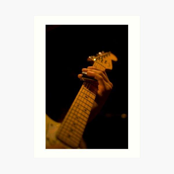 Slide Guitar Art Print