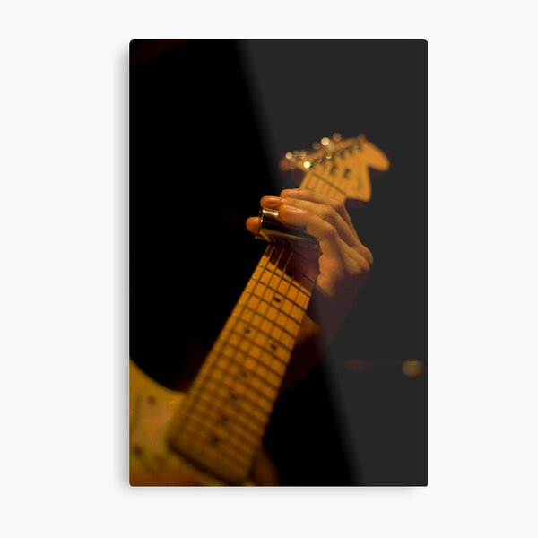 Slide Guitar Metal Print