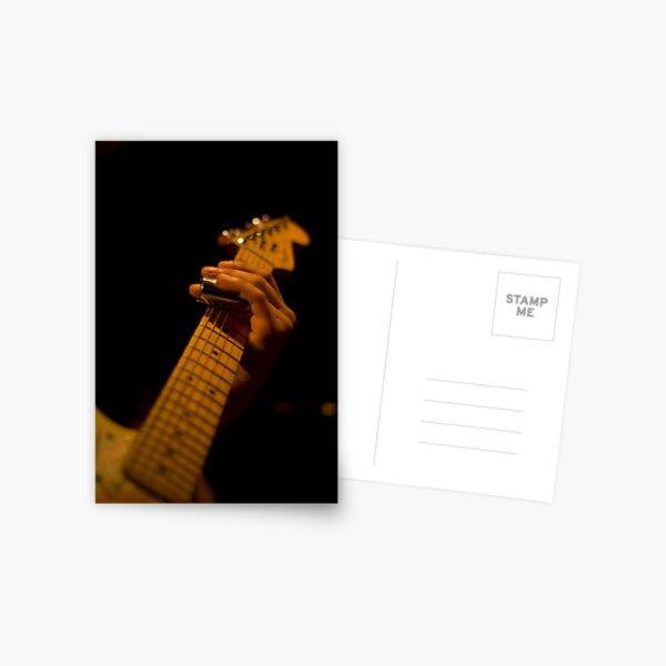 Slide Guitar Postcard