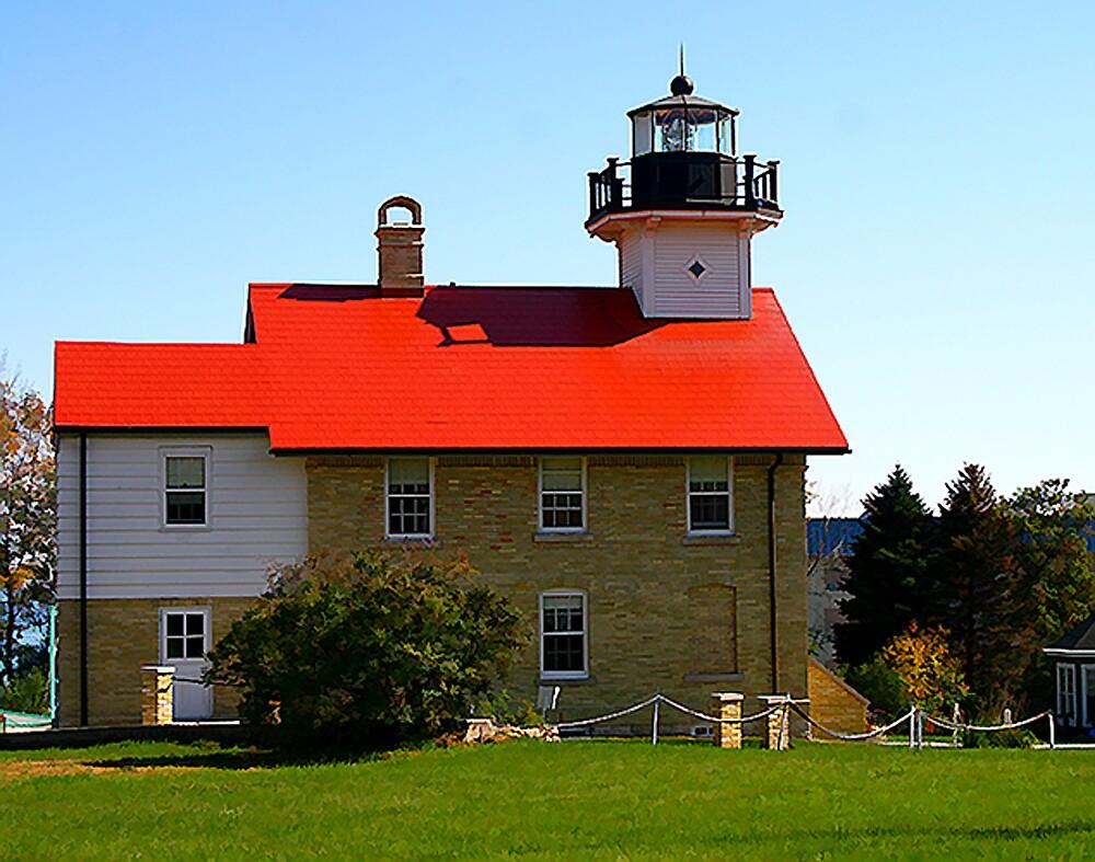 Port Washington LightHouse by Nancy (Peaches) Harker
