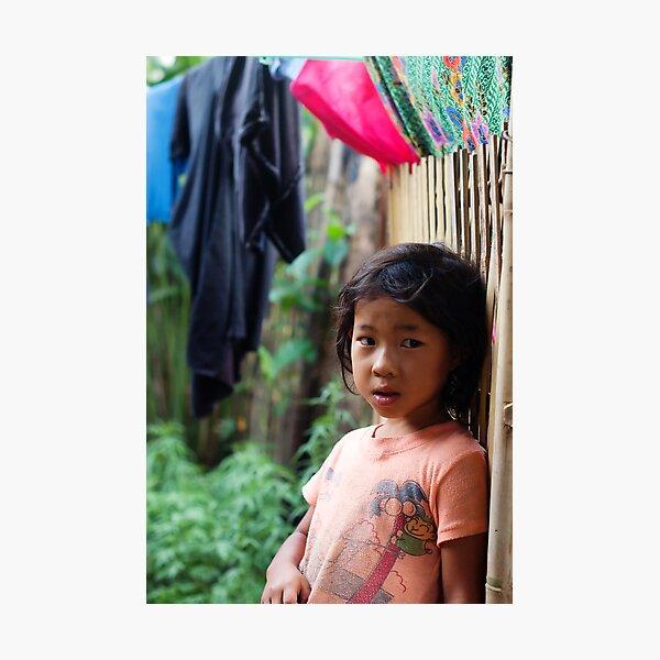 Hmong Girl Photographic Print