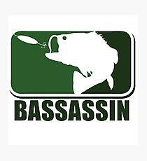 Bass assassin bass fishing humor Photographic Print