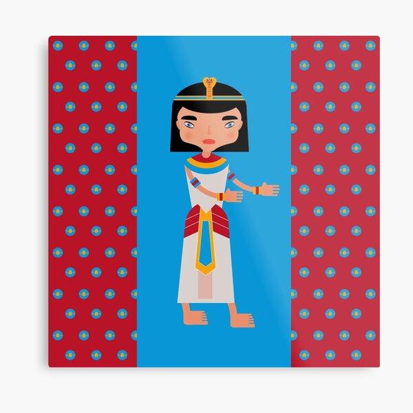 Walk like an Egyptian! Metal Print
