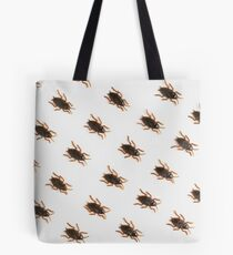 Cockroaches on a white background Tote Bag