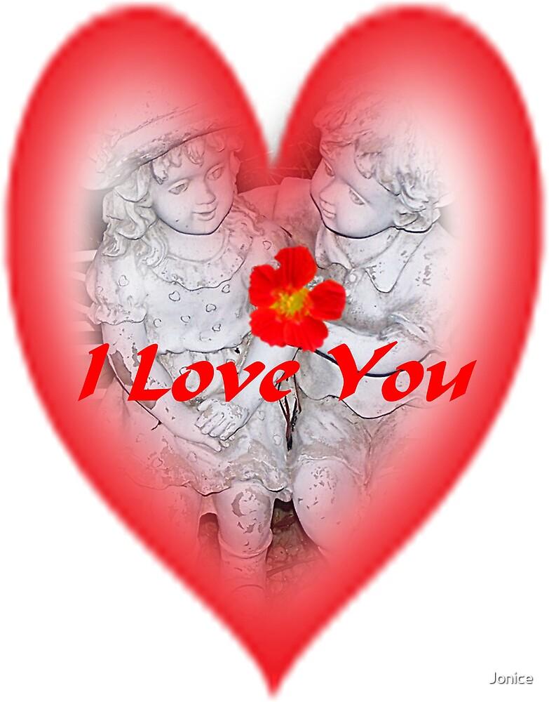 I Love You Valentine by Jonice