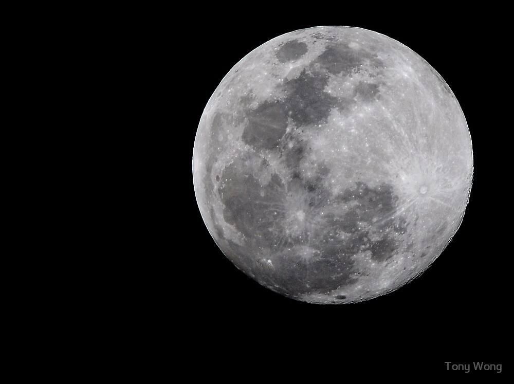 The Closest Moon in last 20 years  by Tony Wong