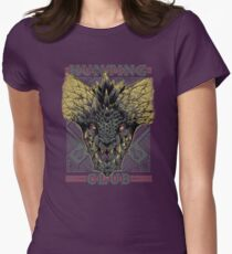 Hunting Club: Nergigante Women's Fitted T-Shirt