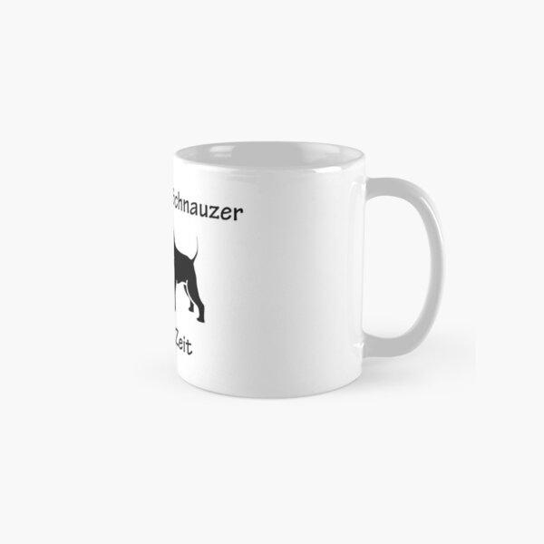 Für Kaffee und Schnauzer ist immer Zeit Tasse (Standard)
