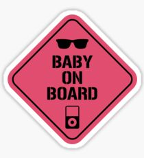 Baby Driver Baby on board Sticker