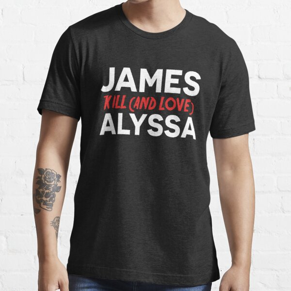 James kill (and love) Alyssa - The End Of The F***ing World Camiseta esencial