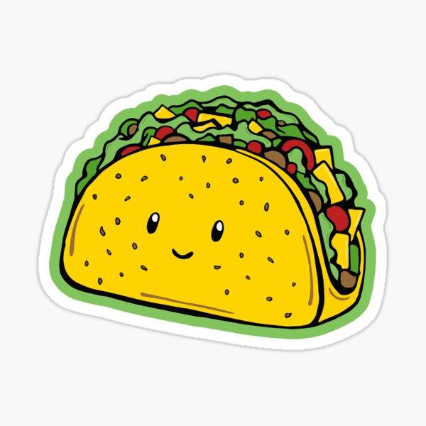 Taco pattern Sticker