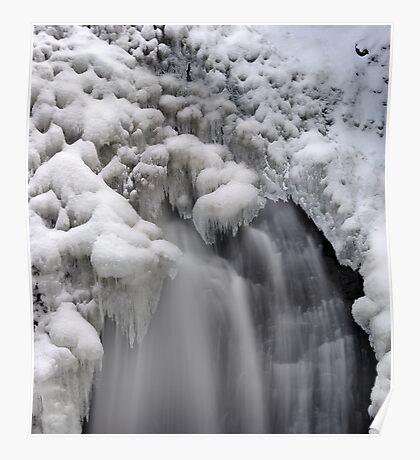 Ice Falls Poster