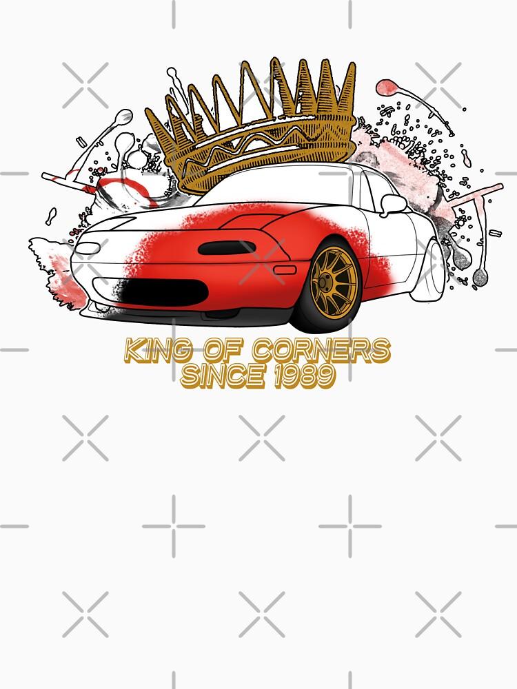 King of Corners - Mazda Miata by MiataApparel