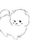 Kawaii Anime Dog by arealprincess