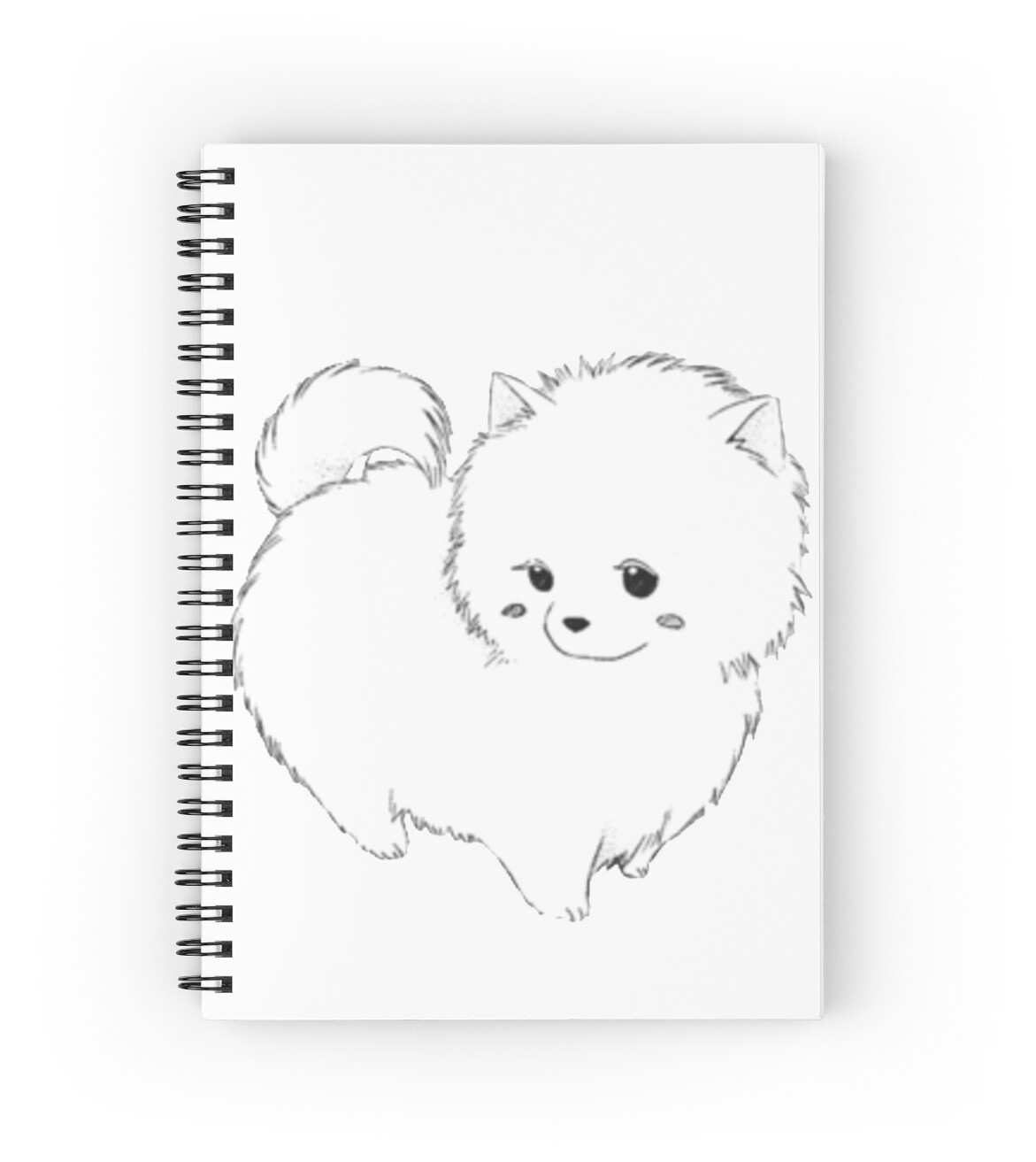 Simple Pomeranian Anime Adorable Dog - sn,x1313-bg,ffffff  Perfect Image Reference_381069  .jpg
