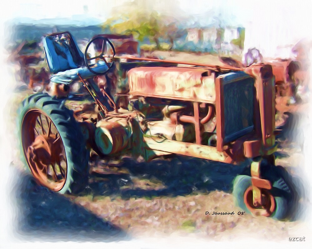 Old Farm Tractor by ezcat