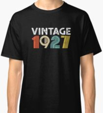 Vintage 1927 - 91st Birthday Classic T-Shirt