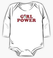 Girl Power One Piece - Long Sleeve