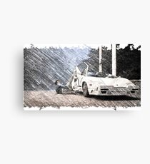 Wolf of Wall Street Design Canvas Print