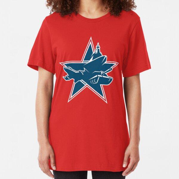 Binkov's Battlegrounds logo Slim Fit T-Shirt