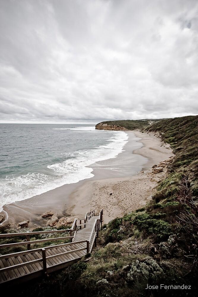 Bells Beach Great Ocean Road by Jose Fernandez