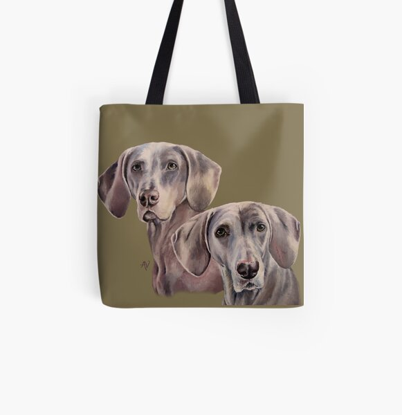 PillowPaws: Misty Girls All Over Print Tote Bag