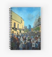 Toon Army, Newcastle United Spiral Notebook