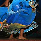Dancer in Blue by Sue  Cullumber