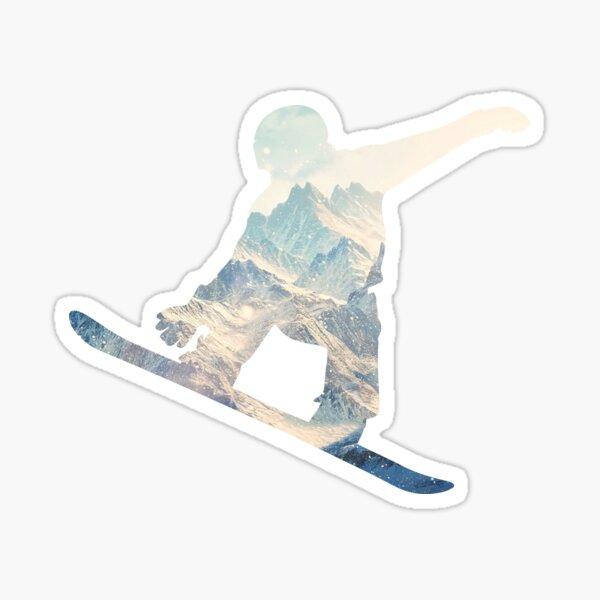 Snowboard Sticker