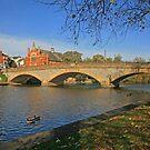River Avon, Evesham by RedHillDigital