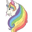 Magical Unicorn Cat Lover by texashandmade